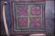 Ayahuasca inspired Shipibo hand bag